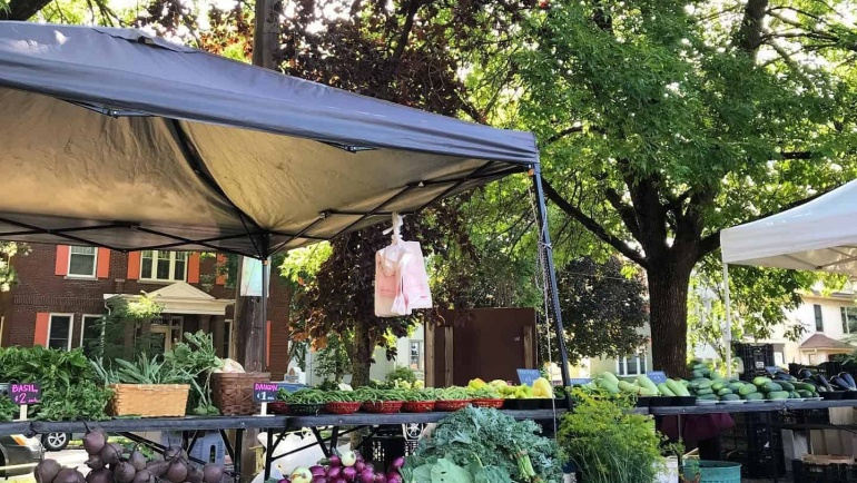 A Perfect Pear: Northeast Farmers Market Partnership with Every Meal