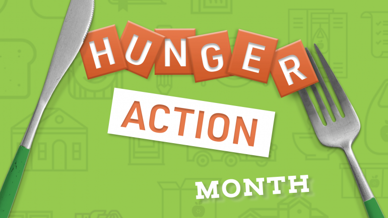 7 Actions You Can Take During Hunger Action Month
